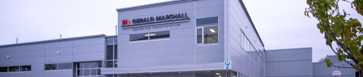 The Gerald Marshall Centre For Transportation